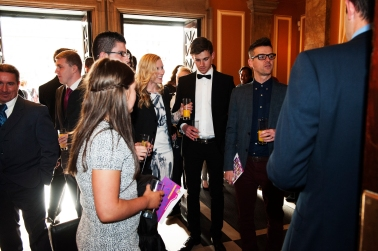 FOR SUNDAY MAIL Guests arrive. Young Scot Awards 2015, Usher Hall, Edinburgh.. FEE PAYABLE FOR ALL INTERNET USE All money payable:- Mark Anderson Flat 2/2 Glasgow G41 3HG