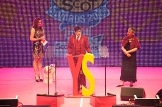 FOR SUNDAY MAIL Community award winner: Michael Gowan. Young Scot Awards 2015, Usher Hall, Edinburgh.. FEE PAYABLE FOR ALL INTERNET USE All money payable:- Mark Anderson Flat 2/2 Glasgow G41 3HG