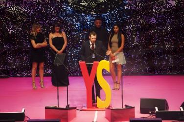 FOR SUNDAY MAIL Arts award winner: Ross Gunning. Young Scot Awards 2015, Usher Hall, Edinburgh.. FEE PAYABLE FOR ALL INTERNET USE All money payable:- Mark Anderson Flat 2/2 Glasgow G41 3HG