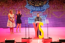 FOR SUNDAY MAIL Environment award VIP presenter: Stevie McCrorie Young Scot Awards 2015, Usher Hall, Edinburgh.. FEE PAYABLE FOR ALL INTERNET USE All money payable:- Mark Anderson Flat 2/2 Glasgow G41 3HG