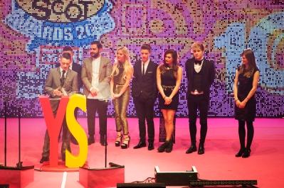 FOR SUNDAY MAIL Volunteering award winner: Ryan Ledgerwood Young Scot Awards 2015, Usher Hall, Edinburgh.. FEE PAYABLE FOR ALL INTERNET USE All money payable:- Mark Anderson Flat 2/2 Glasgow G41 3HG